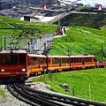 少女峰登山火車