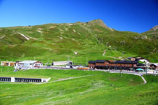 回首Kleine Scheidegg