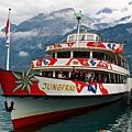 Lake Brienz的船