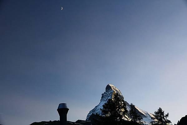 Zermatt YH四人房外的景色