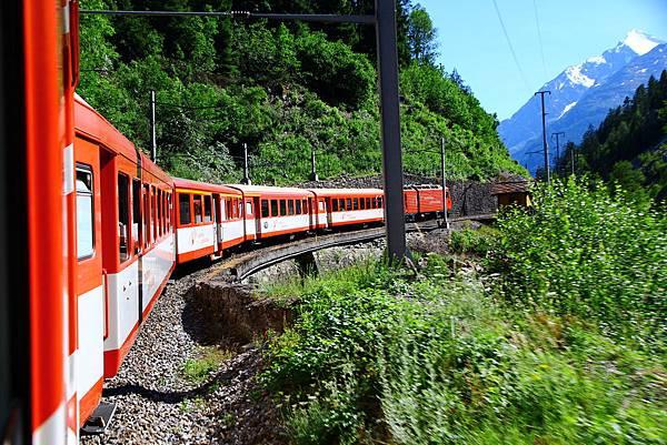 前往Zermatt