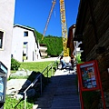 前往Zermatt YH的階梯