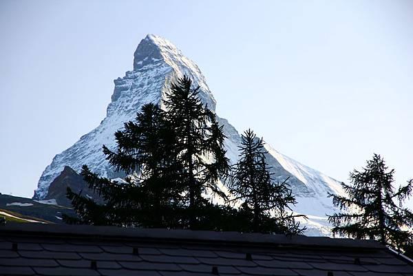 Zermatt YH外的景色