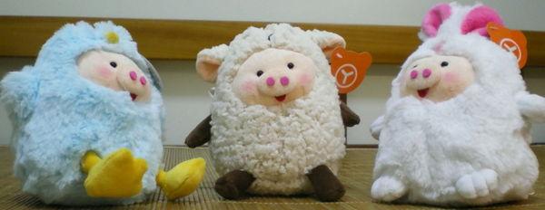脫毛羊家族─滑溜溜の變裝豬系列...チャットの中