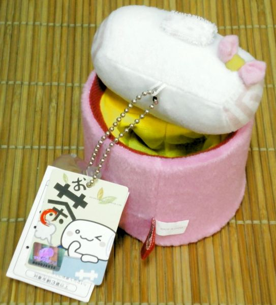 ★㊣饅頭家族泡湯趣★溫泉饅頭茶湯手機座/筆筒150