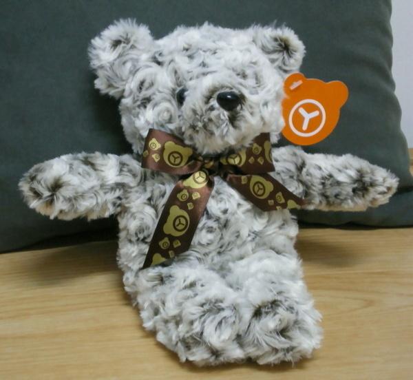 高級雙色漸層玫瑰絨香香捲毛熊(雪松棕款)150(已售出)