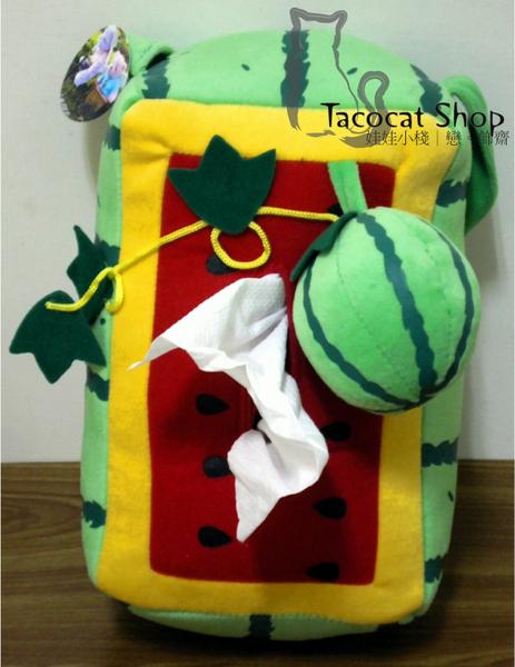 小玉西瓜綿綿大面紙套/面紙盒 150
