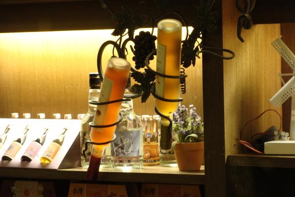 可喝又可看的水果酒飾品
