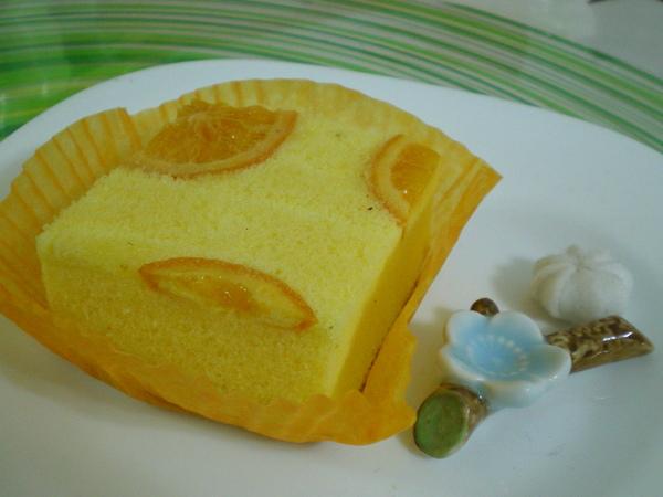 柳橙檸檬蜂蜜蛋糕(天使蛋糕)$25