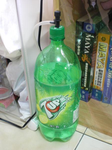 自製Co2瓶完成圖