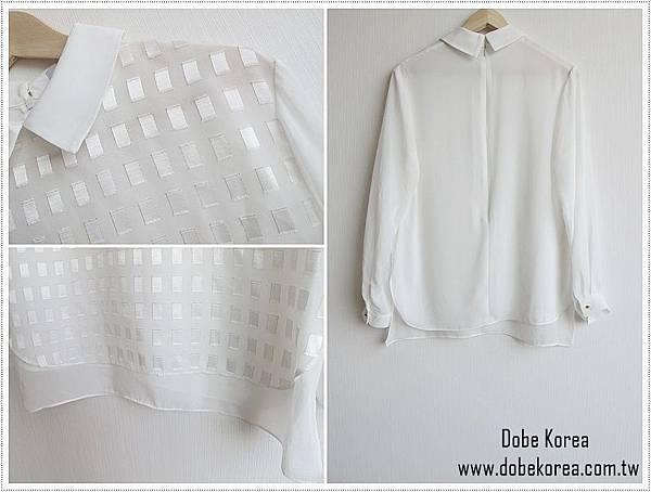小方格金線雪紡襯衫5-1240.jpg