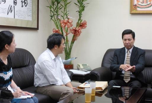 20101009-陳福海聽取環保署金門低碳島專案計畫