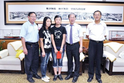 20110722-林惠珍榮獲總統教育獎李縣長特予接見表達祝賀