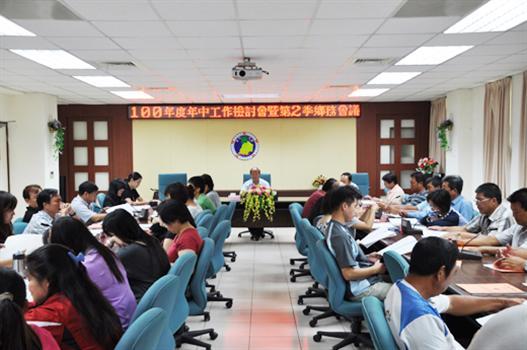 20110728-烈嶼鄉務會議洪成發期許提升公務效率