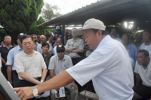 20110811-國家公園通檢烈嶼鄉民強烈表達留點不留面訴求