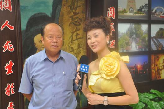 20110901-接受泉州電視台專訪洪成發向母鄉同胞發出熱情召喚