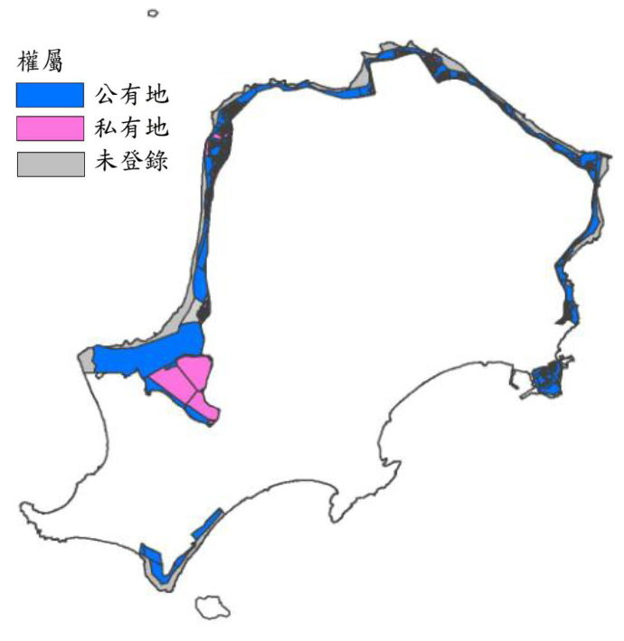 烈嶼土地權屬圖