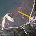 上林海灘衛星圖