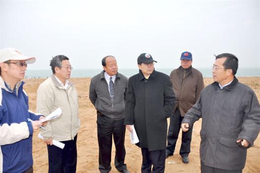20110105-喜迎大橋動工李縣長實勘后頭橋址