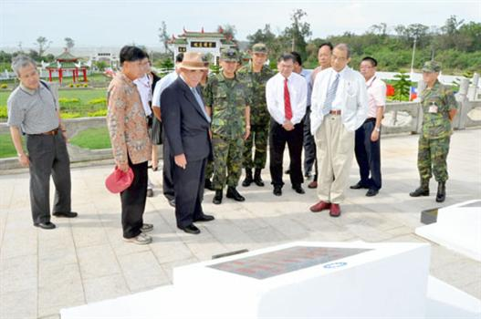 20100922-郝柏村舊地重遊緬懷袍澤