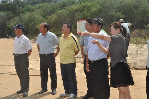 20100813-鄉代下鄉考察開發遊艇碼頭可行性