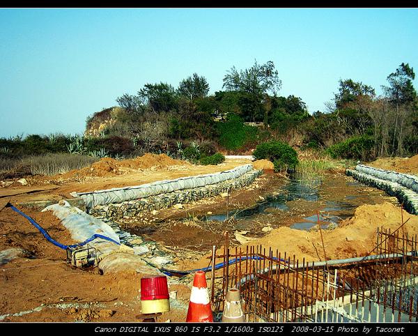 虎堡排水系統