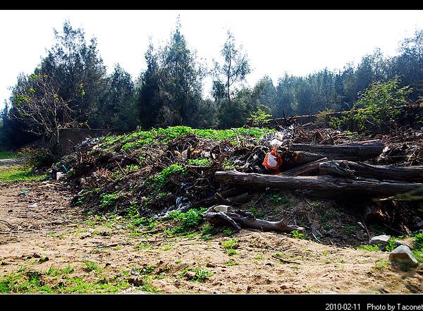 堆棄的位置就在西湖旁