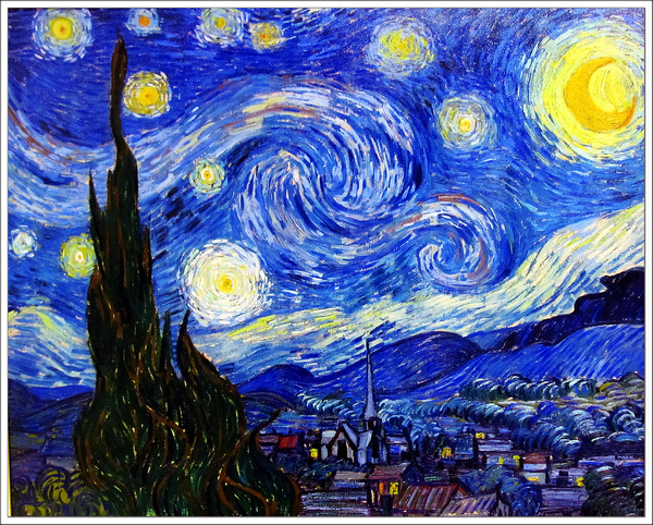 1889 Starry Night 星夜