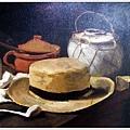 Still Life with Straw Hat  1881有草帽的靜物
