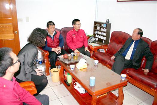 2010-03-06烈嶼鄉長洪成發下鄉訪視