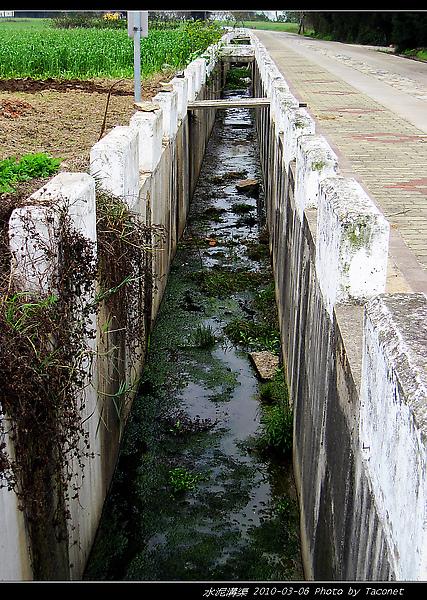 雙口濱海大道旁排水溝