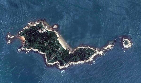 二膽衛星圖