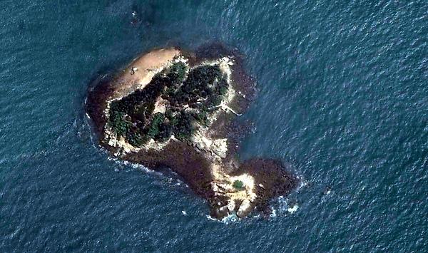 猛虎嶼衛星圖