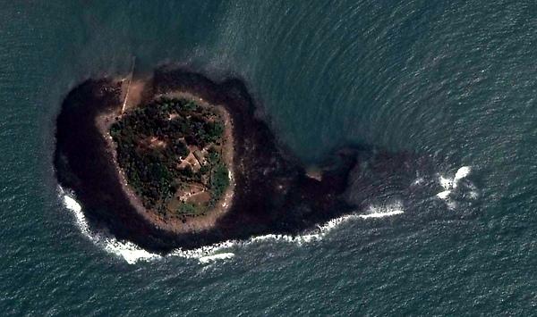 復興嶼衛星圖