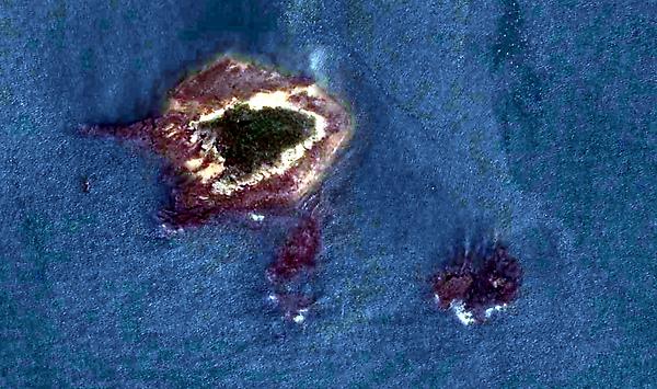 檳榔嶼衛星圖