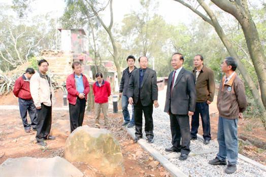 2010-03-31烈嶼鄉代下鄉視察基建