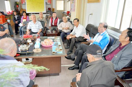 20110525-李縣長走訪烈嶼聽取地方興革建言