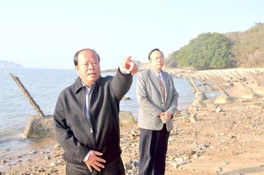 20110301-主政一年烈嶼鄉長洪成發頗多建樹