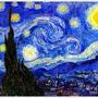 1889  Starry Night  星夜