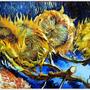 1887  Sunflowers四朵向日葵