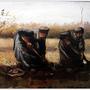 Peasant Women Digging Up Potatoes   1885 挖馬鈴薯的農婦