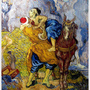 The Good Samaritan (after Delacroix)  1890好索瑪利亞人