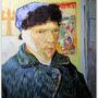 Portrait with Bandaged Ear  1889  割耳後自畫像