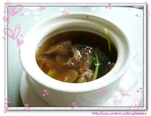 百合牛楠湯