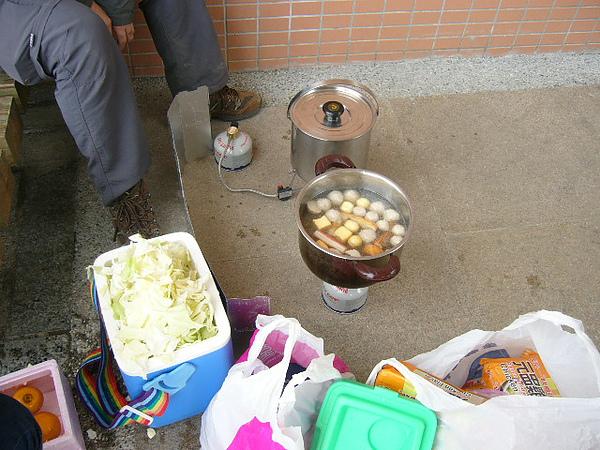 火鍋料高麗菜+快煮麵