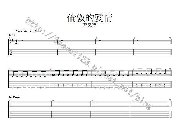 藍又時-倫敦的愛情 BASS譜(GP).jpg