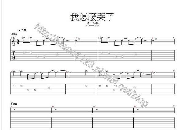 八三夭-我怎麼哭了 吉他譜(GP).jpg