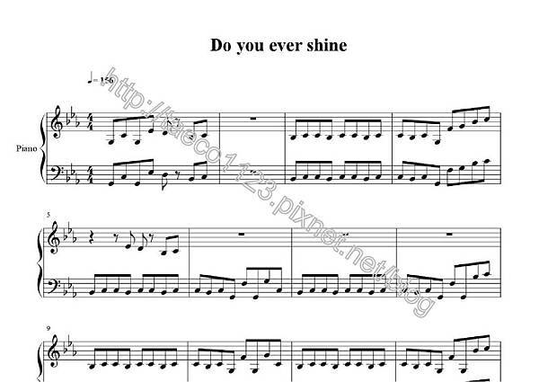五月天-Do you ever shine 鋼琴譜(OVE).jpg