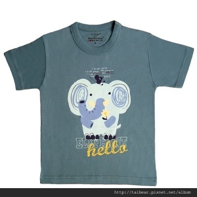 t-shirt-short-sleeves-elephant