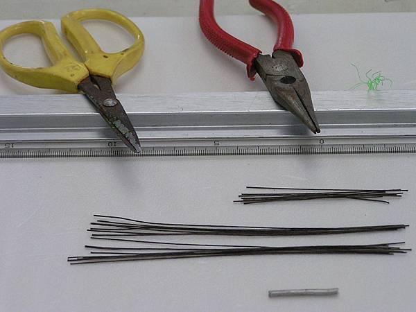 06裁剪各尺寸線材備用.JPG